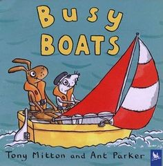Sail boats, row boats, ferry boats and speedboats: find them all and discover how they work in this fun-filled picture book. Then take a cruise on an ocean liner, crewed by our favorite animal characters, in a jolly rhyming journey