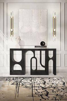 Rug Inspiration, Decoration Inspiration, Interior Design Inspiration, Design Ideas, Design Trends, Decor Ideas, Luxury Interior Design, Interior Exterior, Home Design