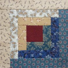 This type of log cabin quilts most certainly is an inspiring and fantastic idea Quilt Square Patterns, Quilt Block Patterns, Pattern Blocks, Quilt Blocks, Hexagon Quilt, Log Cabin Patchwork, Log Cabin Quilt Pattern, Log Cabin Quilts, Strip Quilts