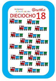 Cartas juguetes números (18) Pot Holders, Preschool, Writing Activities, Printable Cards, Preschool Printables, Preschool Math Activities, Kids, Hot Pads, Potholders
