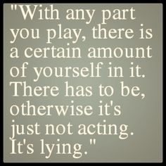 """So true! And real actors are willing to be vulnerable and put themselves into a role. I loved adding a bit of """"bethany"""" to zaneeta;)"""