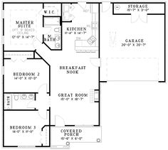 The griffin house plan plan w goo 535 3d plans - Traditional neighborhood design house plans ...