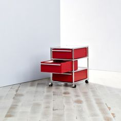 {USM Haller Roll Container} by minimum used - fab multipurpose drawer system