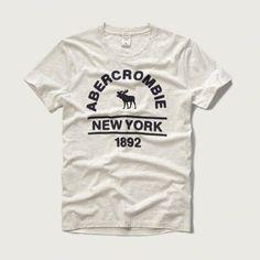 Men s Abercrombie and Fitch t shirt Hombres Abercrombie e5c114477186c