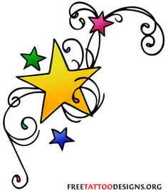 Shooting Star Tattoos on Star Tattoos Shooting Stars And Nautical Star Tattoo Designs on neck women catcher tattoos on neck on neck small tattoos on neck Free Tattoo Designs, Tattoo Designs For Women, Design Tattoos, Flower Tattoos, Small Tattoos, Nautical Star Tattoos, Shooting Star Tattoo, Shooting Stars, Tattoo Trends