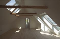Loft conversion, VELUX INTEGRA and VELUX CABRIO, Denmark