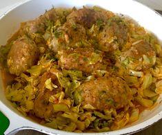 Gołąbkowy kociołek z młodą kapustą - Blog z apetytem Grilling, Grains, Food And Drink, Chicken, Meat, Kitchen, Blog, Dinners, Dinner Parties