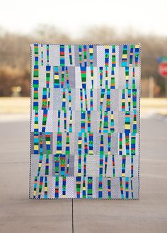 quilt for Justus and Kelli? Make birch trees in brown and white.