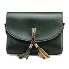 Women Bag Small Tassel Cross Body Bag