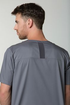 9a25db8e527 Looking to stay cool on the job? Our EON Men's collection of scrubs  features mesh