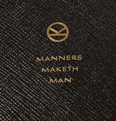manners maketh man meaning