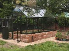 glass houses - Google Search Greenhouse Staging, Diy Greenhouse, Elite Greenhouses, Shade House, Roof Vents, Design System, Safety Glass, English Style, How To Level Ground