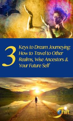 """You don't need to be asleep to dream and access the valuable wisdom your dreams hold. """"Active Dreaming"""" combines the ancient shamanic practice of dream journeying with opening to your imagination. Discover 3 keys to dream journeying and listen to a short audio clip at: http://blog.theshiftnetwork.com/blog/3-keys-dream-journeying-how-travel-other-realms-wise-ancestors-your-future-self?utm_source=pinterest&utm_medium=boost&utm_campaign=activedreaming02"""