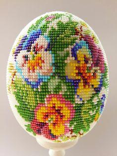 Цветочная поляна | biser.info - всё о бисере и бисерном творчестве