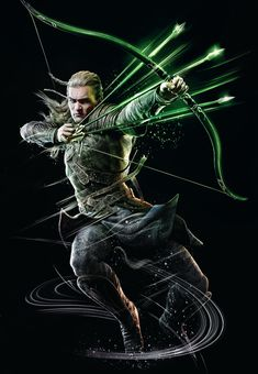 Legolas Greenleaf | Guardians of Middle-earth Art & Pictures