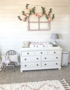 Baby Girl Boho Woodland Nursery - Farmhouse Blooms