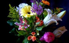 букеты цветов фото -04
