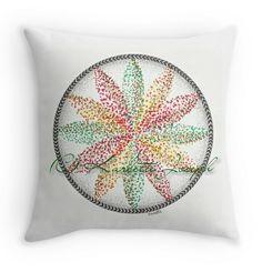 Illusion Mandala Throw Pillow http://www.redbubble.com/people/karlettejoseph/works/22758834-illusion?p=throw-pillow&rel=carousel #cushion #homedecor #throwpillow #mandala #art