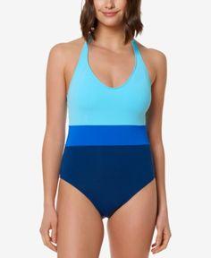 b18ec5c11b0 Bleu by Rod Beattie Colorblocked One-Piece Swimsuit - Blue 8 Blue Swimsuit,  One