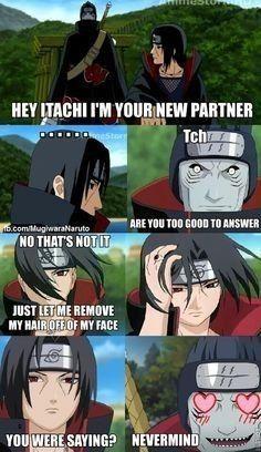Naruto Akatsuki Funny, Manga Naruto, Funny Naruto Memes, Naruto Sasuke Sakura, Naruto Comic, Naruto Cute, Anime Manga, Itachi Memes, Boruto
