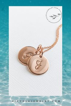 Our simple, subtle initial pendant makes the perfect personalized statement necklace. Available in sterling silver, 14k rose or yellow gold fill. Choose up to 5 discs, this necklace remains a versatile everyday accessory to carry a reminder of your loved ones. Or get one with your own initial! Makes the best gift idea for a deserving Mother or Grandmother for Mothers Day, Christmas, Birthday or Push Present for a Mom of 1 2 3 4 5 kids. Initial Disc Necklace, Family Necklace, Initial Pendant, 5 Kids, Initial Letters, Christmas Birthday, Mother Day Gifts, Personalized Jewelry, Hand Stamped