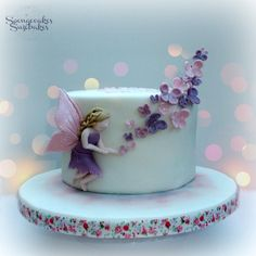 Fairy of the Butterflies Cake - Cake by Spongecakes Suzebakes