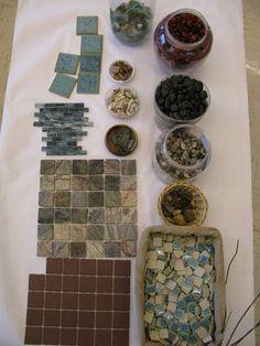 créer avec ds tuiles de céramique.