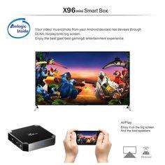 Nett Vwar X96 Mini Tv Box Android 7.1 2 Gb 16 Gb Amlogic S905w Tvbox Quad Core Wifi Media Player 1 Gb 8 Gb X96mini Smart Set-top Tv Box Heim-audio & Video Tv-receiver