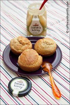 irish scones and ginger honey. I know you love your scones, @Lizette Schapekahm