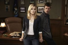 Nathan and Audrey #Haven_SYFY