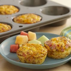 Mini frittatas are great when you're entertaining at brunch because they go right into the oven. And they're delicious served warm or at room temperature.