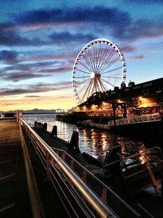 Waterfront--Seattle, WA. Photo by, Shelly