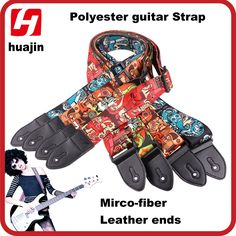 Customized Acoustic Guitar Strap Classical Guitar Straps