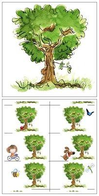 Gauche Droite GS – Le jeu de l'arbre, sur une idée de Mysticlolly Great Websites, Prepositions, Earth Day, Fractions, Education, Plants, Equipment, Ms Gs, Montessori