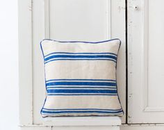 Striped berber pillow #thesouks