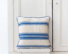 Striped berber pillow #thesouks