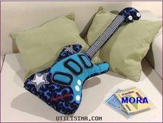 Guitar Pillow Pattern