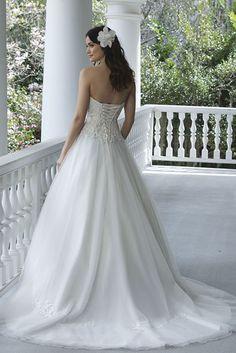 Prachtige bruidsjurk van het merk Sincerity.