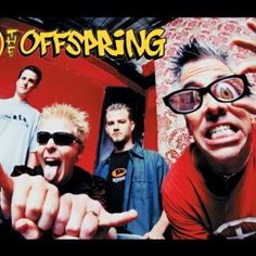 The Offspring! I sang my heart out and jumped around like a fool :-)