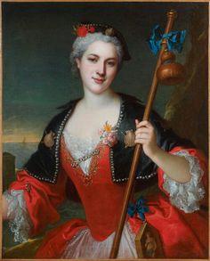 Portrait d'une femme en costume de pèlerine de Saint-Jacques, attribué à Henri Millot