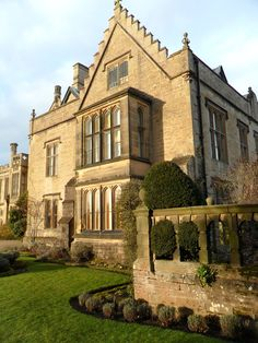 The 18th century restored Newstead Abbey, ancestral home of the Poet, Lord Byron. Nottinghamshire, England.