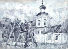 Храм в Ельцах. Maria Apriatova, 2015