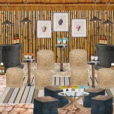 Tiki Bar #decor #bar decor #Tiki #Project Decor #Style Exchange