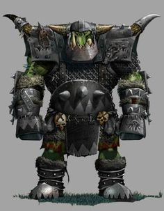 Goblin Art, Goblin, Fantasy, Fantasy Art, Black Orcs, Orc Armor, Fantasy Fiction, Ogre, Warhammer Art