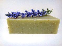 Rosemary Lemongrass Organic Spa Soap Bar Body by PSJSoapCottage