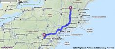 Driving Directions from 423 Waterman Rd, E Dummerston, Vermont 05346 to Adamstown, Pennsylvania | MapQuest