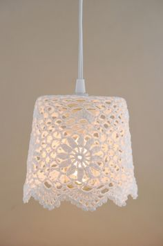 Lace Lampshade White 5.75in Oh wow So beautiful #wedding #mybigday
