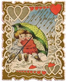 Valentine cards for crafting...  such a cute image!