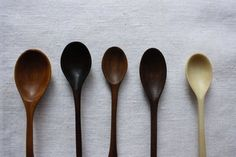 Nikole Harriot Hand Carved Spoons, Remodelista