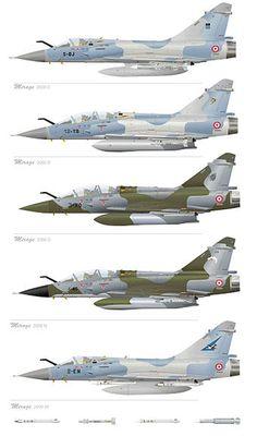 Mirage 2000 C/B/D/N/5F
